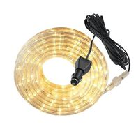 LED Rope Light, 18' - Warm White