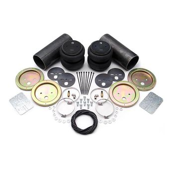 AMP Air Suspension System Fabricator's Kit, Standard double convoluted air springs (recommended for rear suspension)