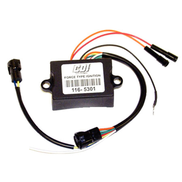 CDI Force Ignition, Prestolite CD Unit With Plug, Replaces 475301-1