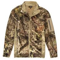 Guide Series Men's Techshell Camo Full-Zip Jacket, Mossy Oak Break-Up Country