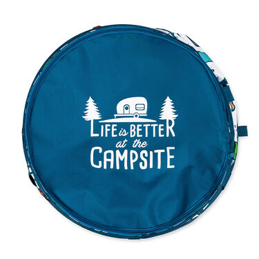 Camco Life is Better at the Campsite Pop-Up Container, Campsite Design