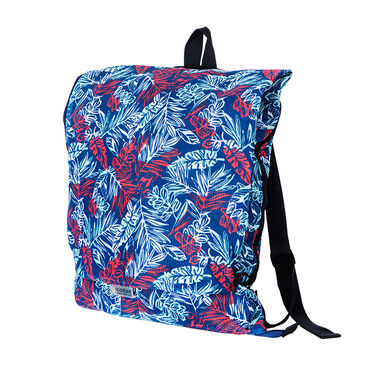 CGear Transitional Sand-Free Backpack and Personal Mat, Blue Floral