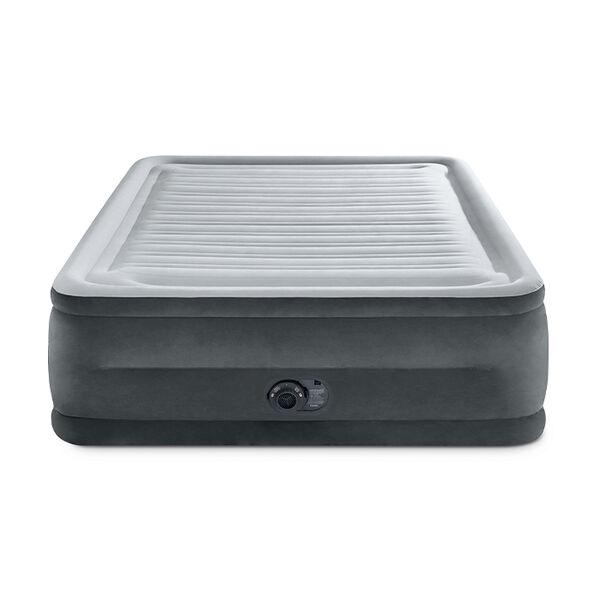 "Intex 22"" Dura-Beam Comfort-Plush Airbed w/QuickFill Plus Internal Pump"