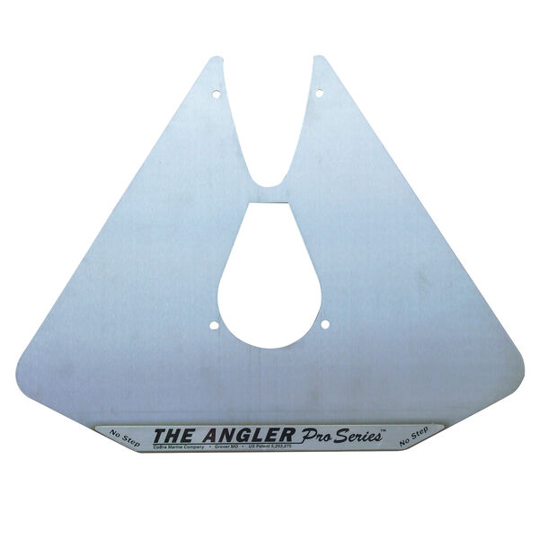 Cobra Angler Hydrofoil Stabilizer Plate, Stainless Steel
