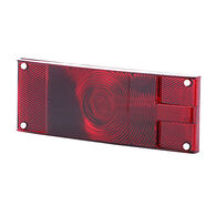 """Optronics Red Replacement Lens, 8-1/16"""" x 2-7/8"""""""