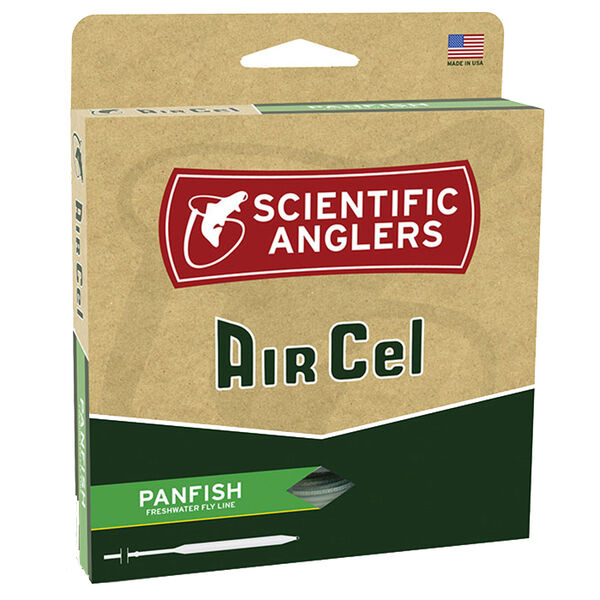 Scientific Anglers AirCel Panfish Fly Line, 6wt