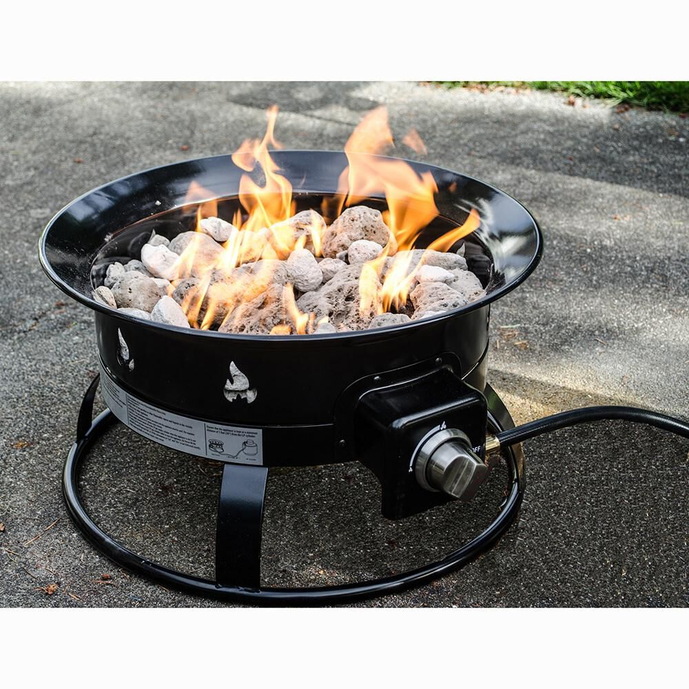 Camping Fire Pit >> Portable Propane Outdoor Fire Pit Camping World