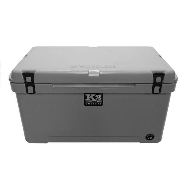 K2 Summit 70 Quart Cooler, Steel Gray