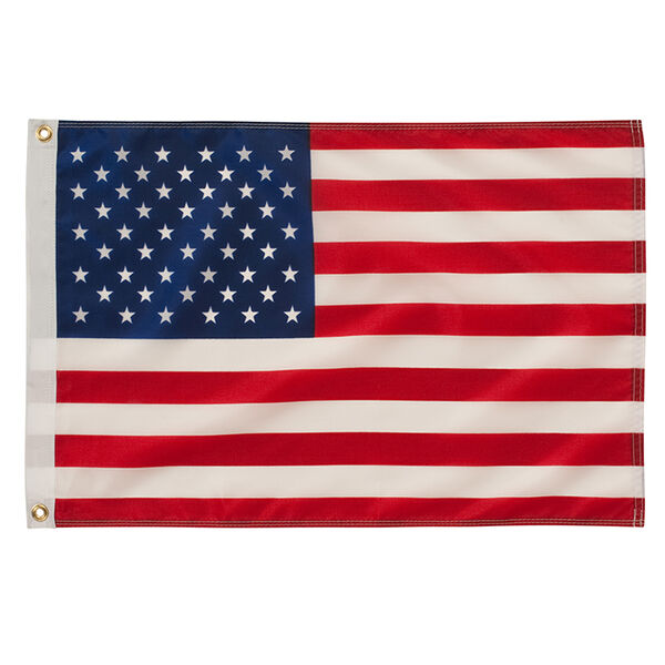 "50 Star US Flag, Nylon 16"" x 24"""