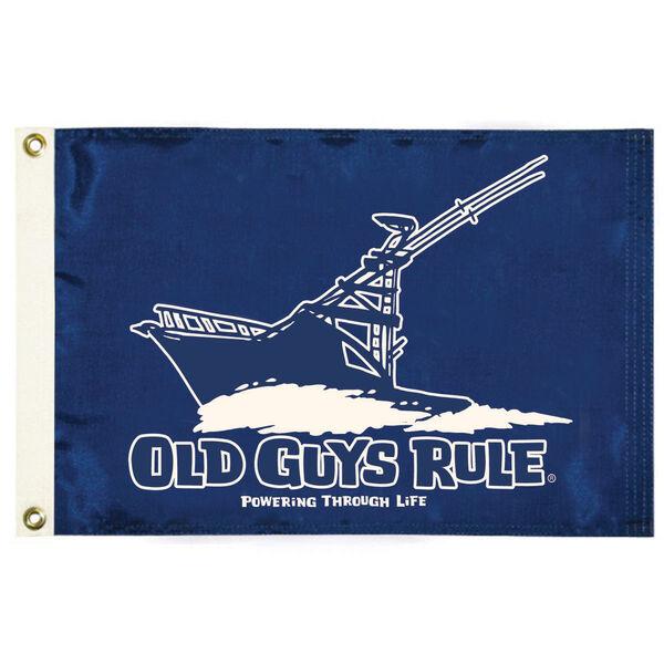 Old Guys Rule Flag, Powering Thru Life