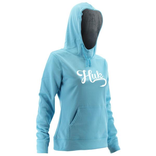 Huk Women's Performance Pullover Logo Hoodie