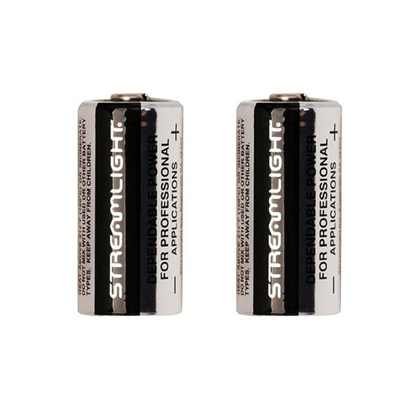 Streamlight CR123 Lithium Battery, 6 Pk.