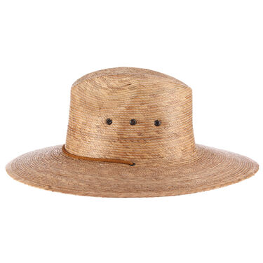 Dorfman Pacific Mt. Momma Palm Straw Lifeguard Hat