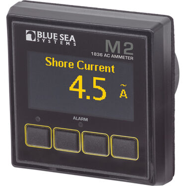 Blue Sea Systems M2 AC Ammeter OLED Digital Monitor