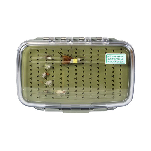 Kingfisher Magnum Fly Box with Silicon Liner