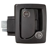 Travel Trailer Entrance Door Locks with Deadbolt, Black