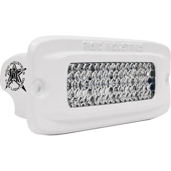 Rigid Industries MSR-QF2 Flush-Mount LED Light, Diffused (Each)