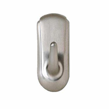Command Medium Accent Hook - Brushed Nickel