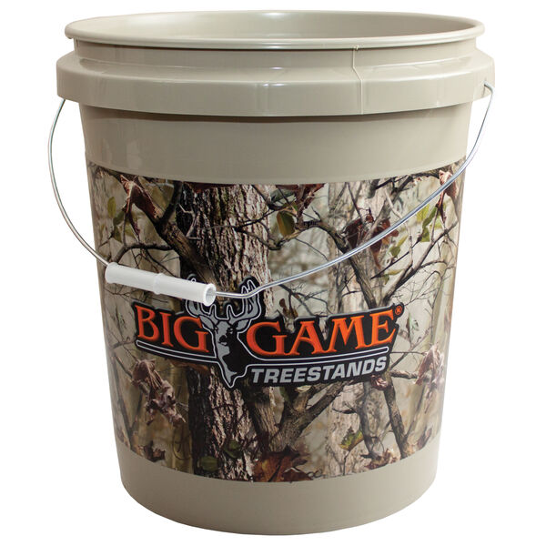 Big Game 5-Gallon Camo Bucket