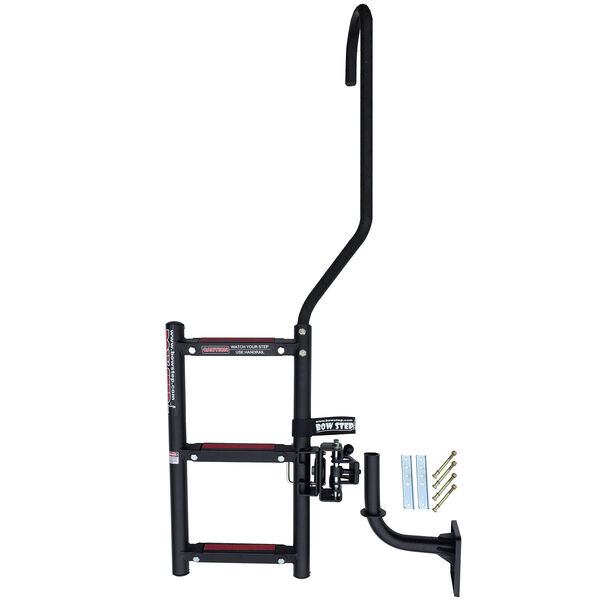 Quality Mark BowStep, 3-Step Ladder (Starboard) with Right Handle