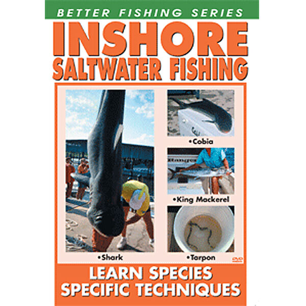 Bennett DVD - Inshore Saltwater Fishing: Learn Species Specific Techniques