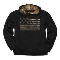 Buck Wear Men's Camo Stars And Stripes Pullover Hoodie