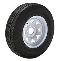 Goodyear Marathon 175/80 R 13 Radial Trailer Tire, 5-Lug White Spoke Rim