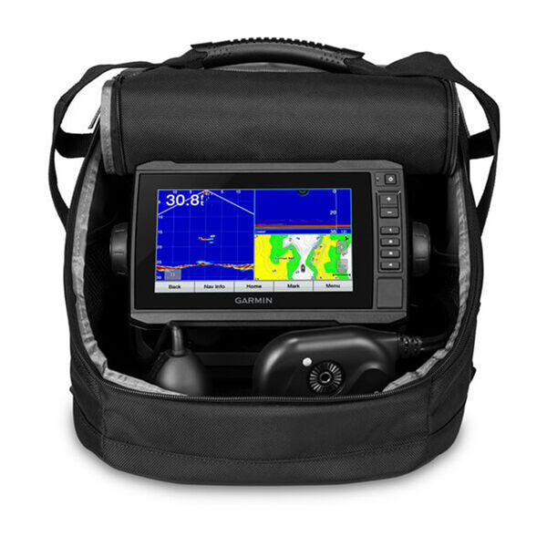 Garmin Panoptix PS22 Ice Fishing Bundle with ECHOMAP UHD 73cv