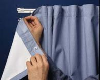 Glide-Tape Drapery System Ceiling Kit