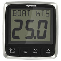Raymarine i50 Speed Display System with Thru-Hull Transducer