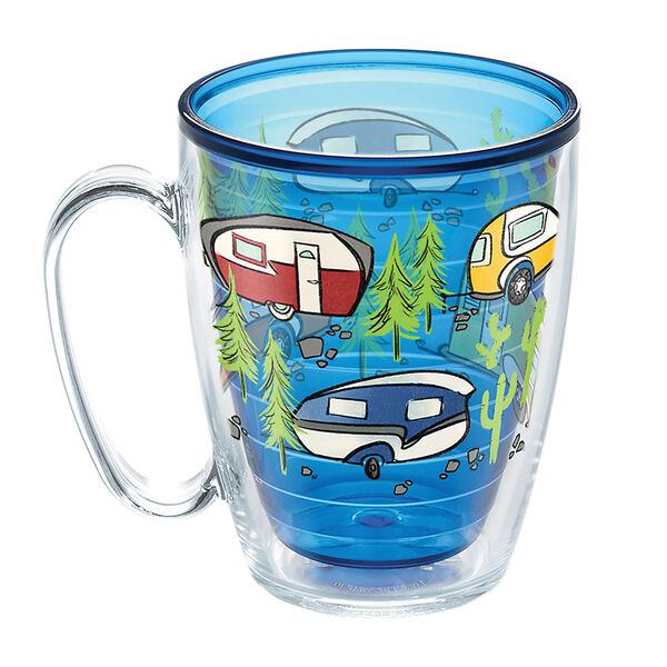 Tervis® Mug, 16 oz. Retro Camping