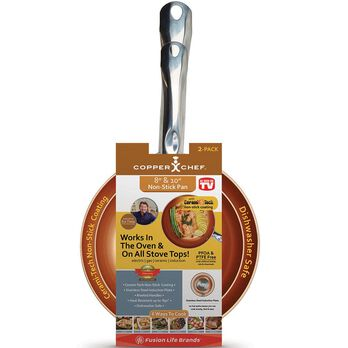 Copper Chef™ Round Pans, 2 Pack