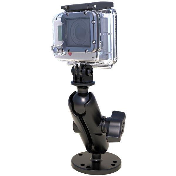 "RAM Mount 1"" Ball Mount w/Custom GoPro; Hero Adapter"