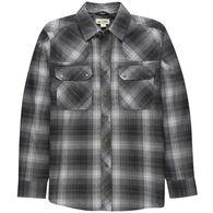 Ultimate Terrain Men's Trailhead Wool-Blend Flannel Shirt