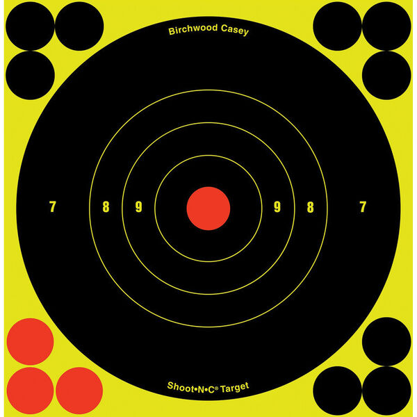 Shoot-N-C Bull's-Eye Targets, 12-Pk.