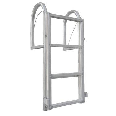 International Dock Wide-Step Dock Lift Ladder, 3-Step