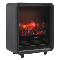 Crane Fireplace Heater, Black