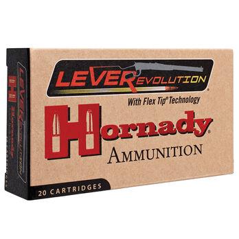 Hornady LEVERevolution Rifle Ammunition, .450 Marlin, 325-gr., FTX