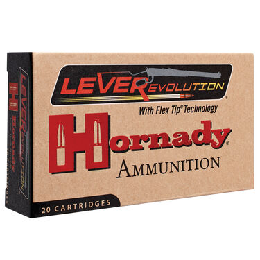 Hornady LEVERevolution Rifle Ammunition, .450 Marlin, 325-gr., FTX