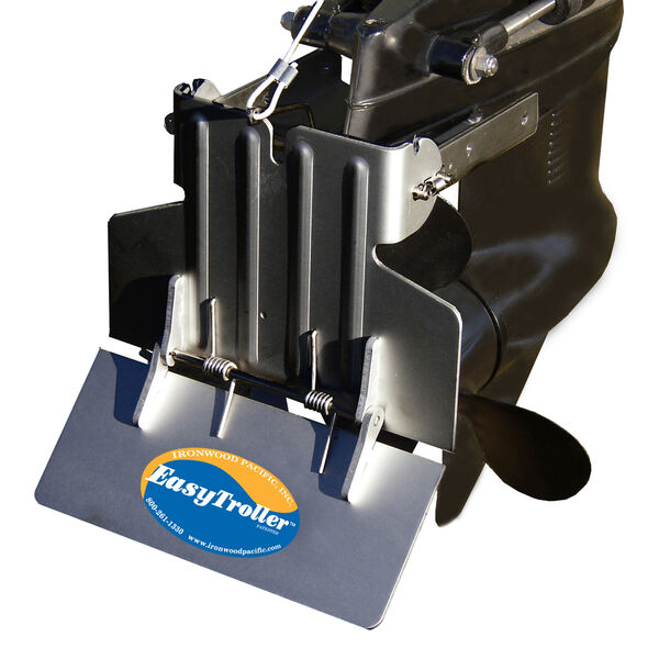 EasyTroller Hinged Metal Trolling Plate, Standard Plate without Fins