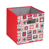 Home Expressions Dog Lover Collapsible Storage Cube