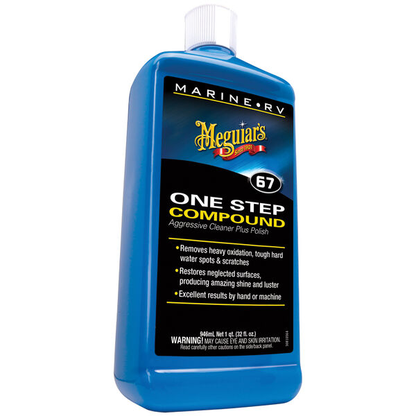 Meguiar's One-Step Compound, Quart
