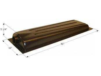 Holding Tank Center End Drain HT706AED, 8 Gallon