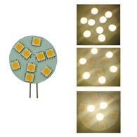 Bee Green LED 3-way 12 Volt LED Light Bulb Warm White, 2-Pack