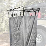 Nomadic Quick Deploying Car Side Shower Room