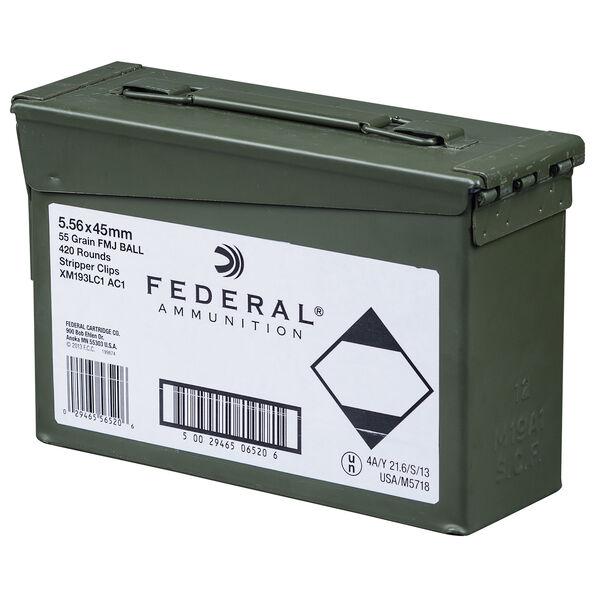 Federal Premium M193A1 Ammo Can, 5.56x45mm, 55-gr., FMJ
