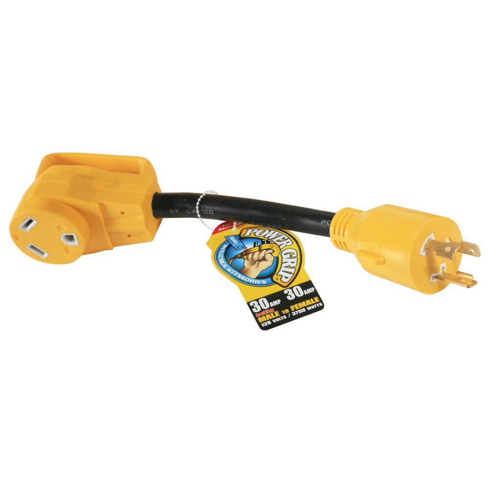 Camco Powergrip Generator Adapter 30a Camping World