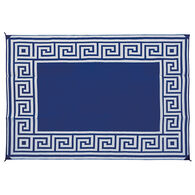 Reversible RV Patio Mat, Greek Motif