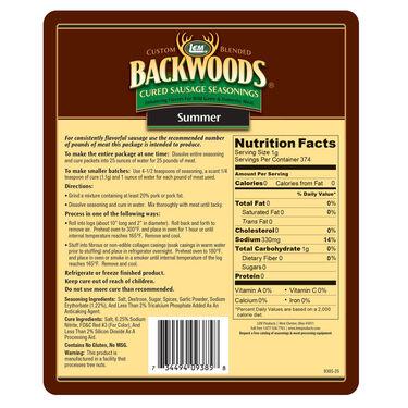 LEM Backwoods Summer Sausage Cured Sausage Seasoning, 25 lbs.