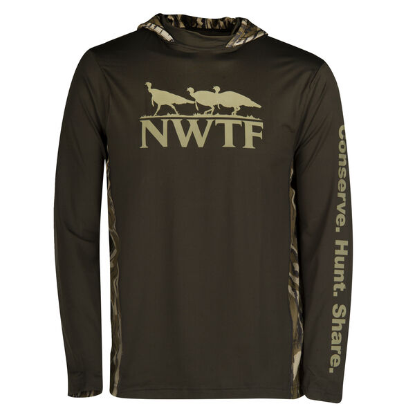 NWTF Men's Long-Sleeve Hooded Tee